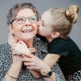 Fotoshoot samen met oma