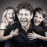 Fotoshoot vader en kinderen bij Shoots and More