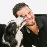 Fotoshoot baasje met hond bij shoots and more