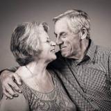 Love fotoshoot opa en oma