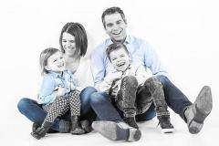 Fotoshoot met gezin en familie