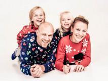 Fotoshoot met foute kersttrui bij Shoots & More