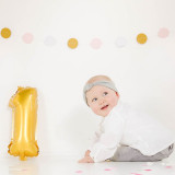Baby fotoshoot 1 jaar feest bij Shoots and More