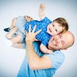 Spontane baby fotografie