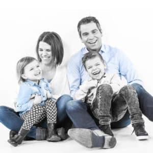 Leuke fotoshoot gezin