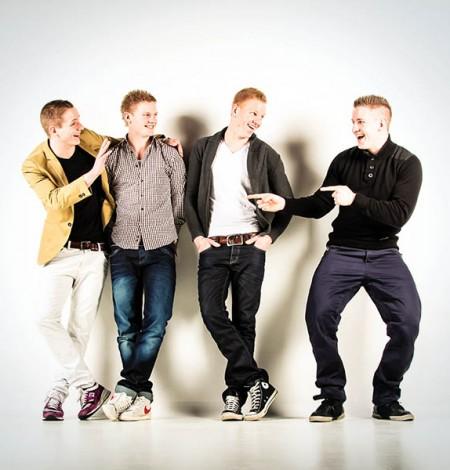 fotografie met vier jongens Breda