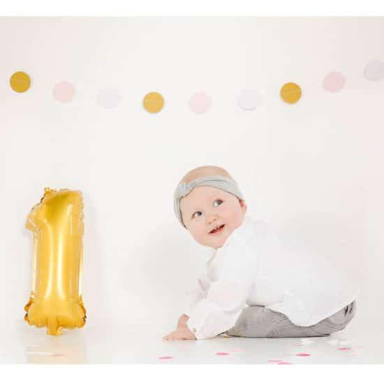 Fotoshoot baby feest