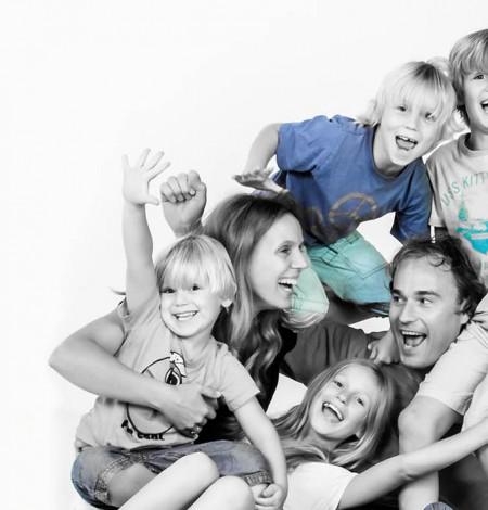 familie fotoshoot in de studio bij Shoots & More Den Haag