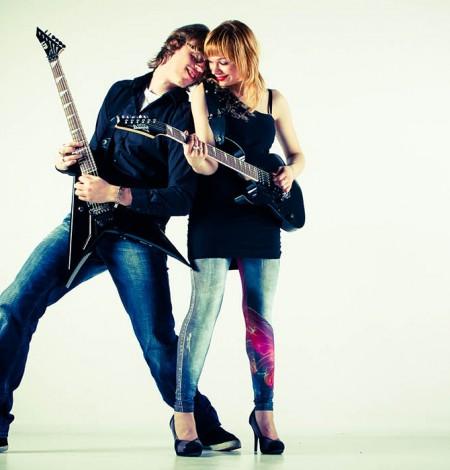 Love fotoshoot van rock stel bij Shoots & More Den Haag