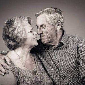 Fotoshoot ouder echtpaar