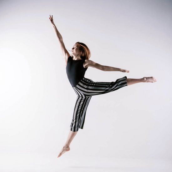 Solo fotoshoot danseres