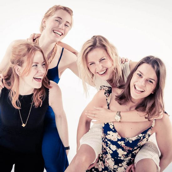 Fotosessie met vriendinnen