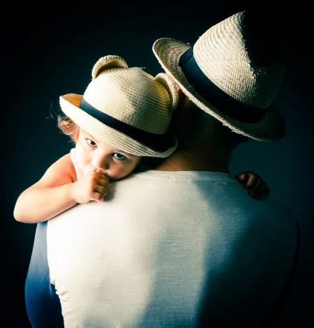 Shoots & More Breda fotoshoot van kindje met vader, gezinsfotografie