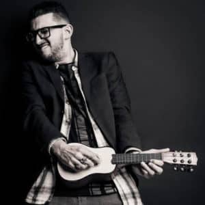 fotoshoot gitaar