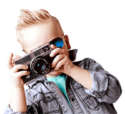 Junior fotograaf