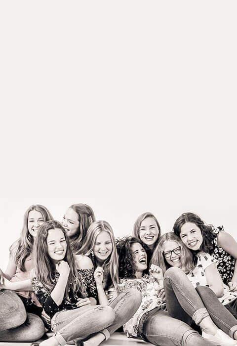 Fotoshoot beste vriendinnen