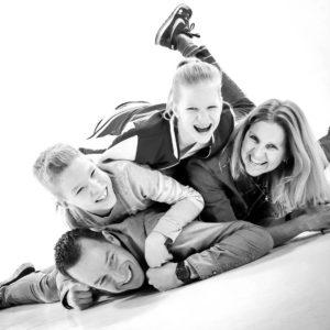 spontane fotoshoot gezin