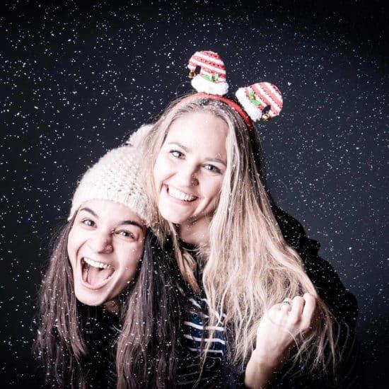 Kerstcadeau fotoshoot