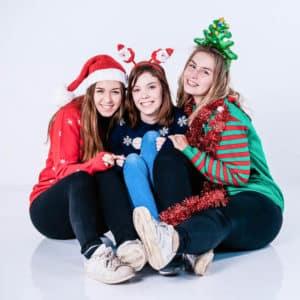 foute kersttruien fotoshoot bij shoots and more