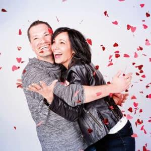 Cadeau Valentijnsdag fotoshoot