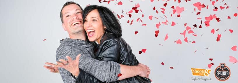 Love fotoshoot voor valentijn bij Shoots and More