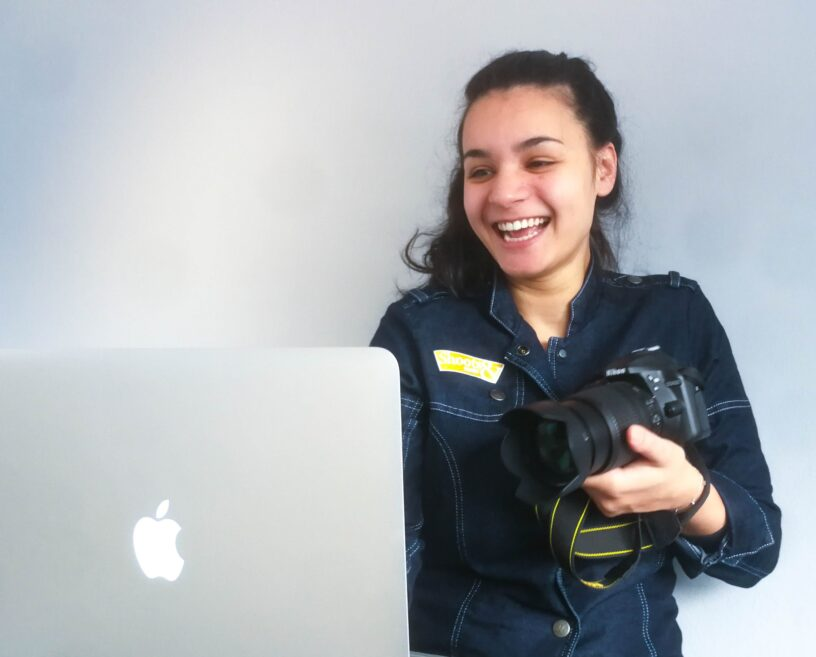 Online fotoshoot