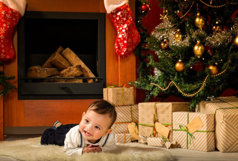 Kerst fotoshoot